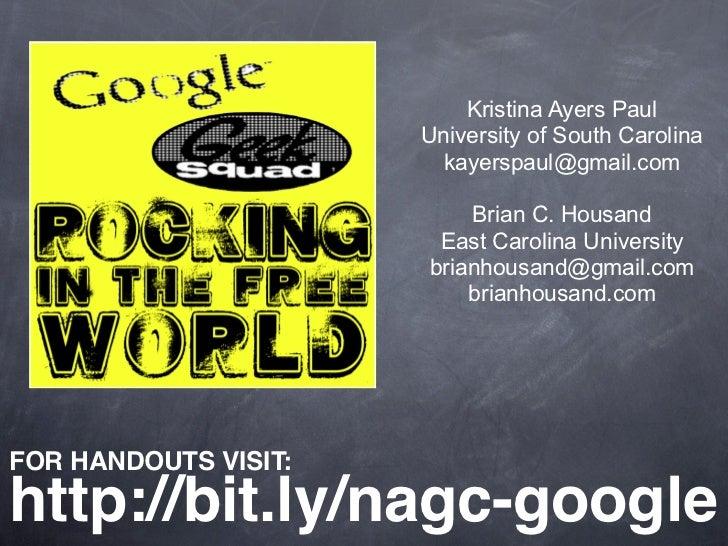 Kristina Ayers Paul                        University of South Carolina                         kayerspaul@gmail.com      ...
