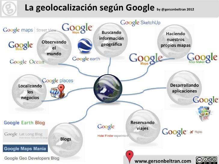 La Geolocalizacion según Google