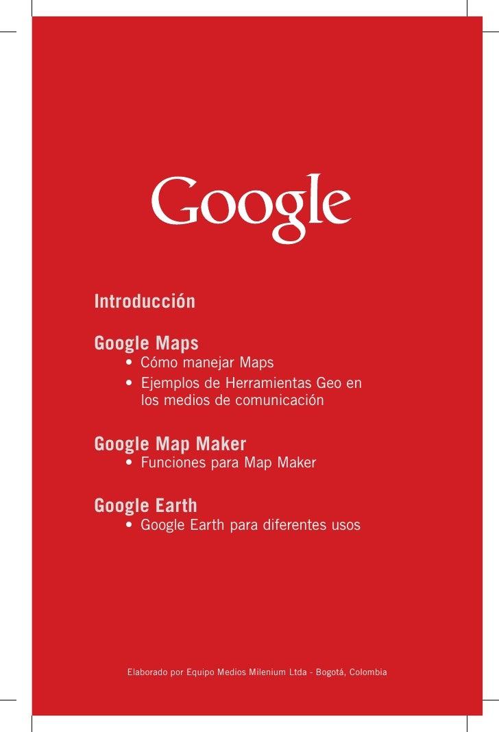 Herramientas Geo para la Comunicación  Slide 3