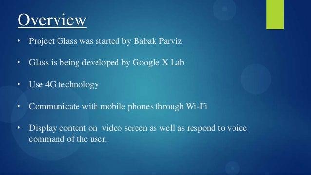 Google Glass Slide 3