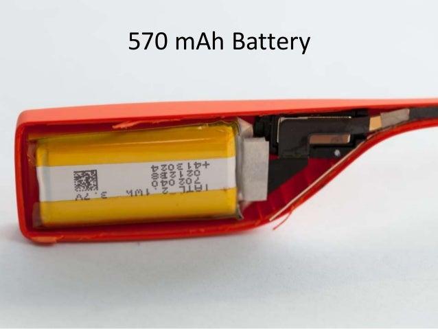 570 mAh Battery