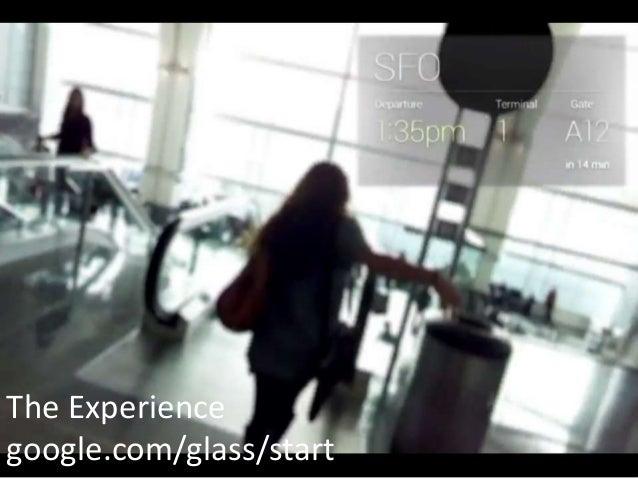 The Experiencegoogle.com/glass/start