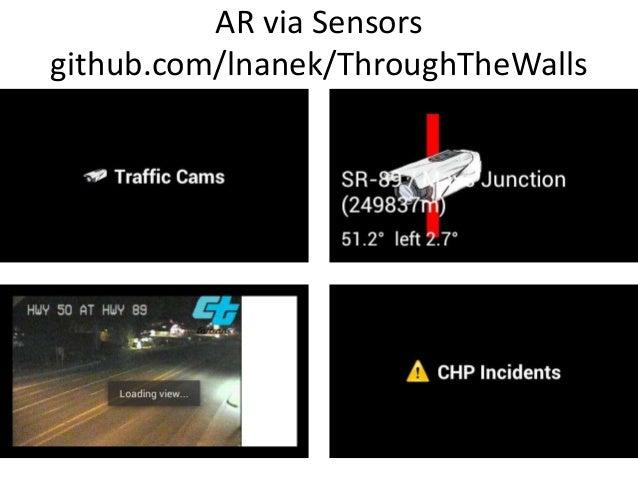 AR via Sensorsgithub.com/lnanek/ThroughTheWalls