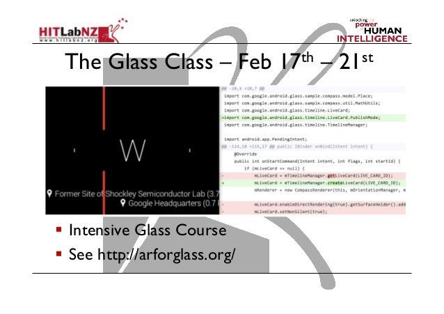 Developing for Google Glass Slide 2