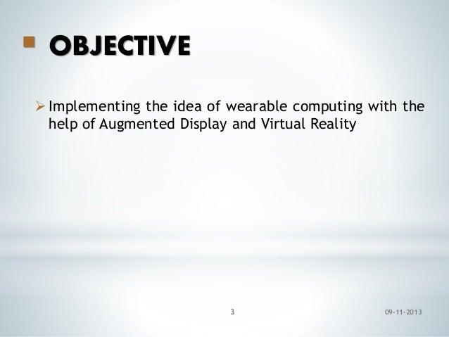 Google glass ppt Slide 3