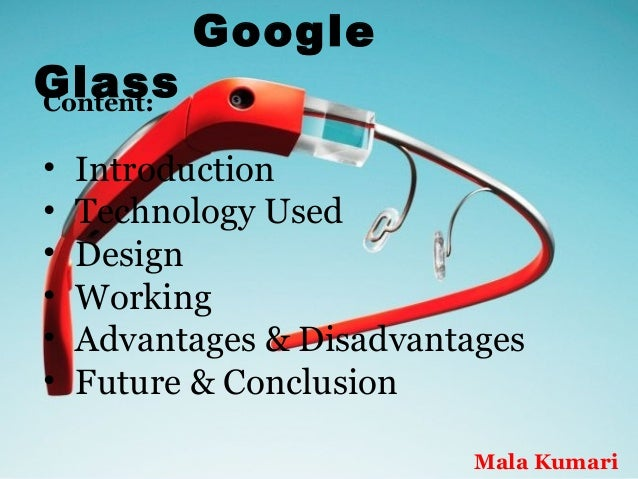 Google Glass and the Problems It Creates