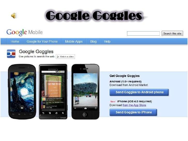 Google Goggles<br />