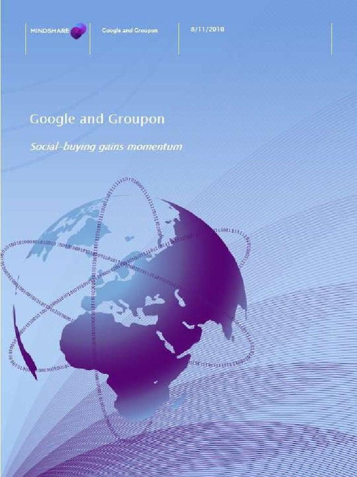 Google&groupon