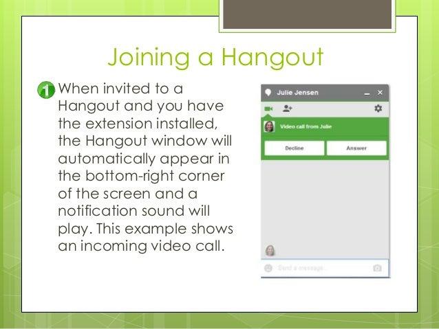 Google Hangouts User Guide