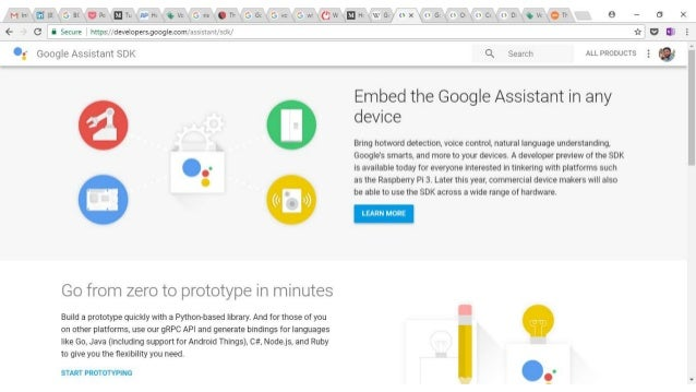 DIY Google Home with Google Assistant on a Raspberry Pi