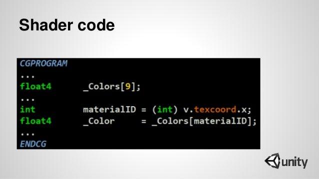 Shader code