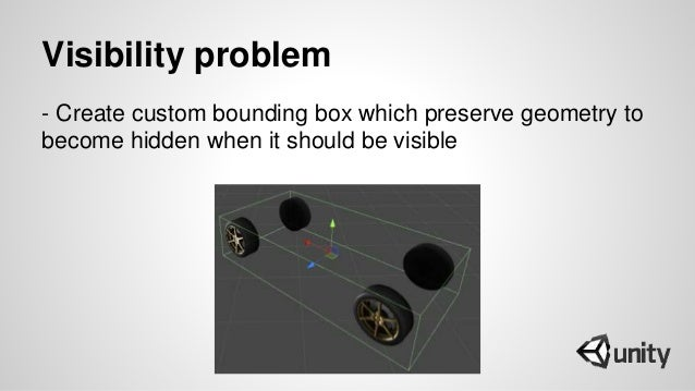 Visibility problem - Create custom bounding box which preserve geometry to become hidden when it should be visible
