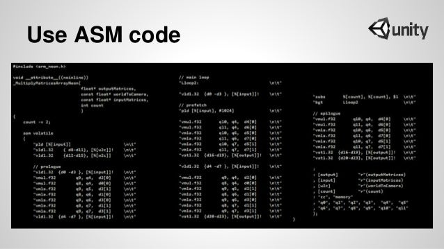 Use ASM code
