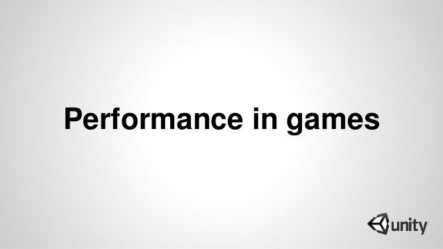 Performance in games