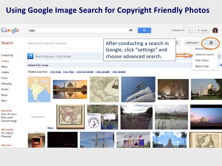 Using Google Image Search for Copyright Friendly Photos                          After conducting a search in             ...
