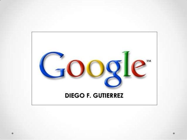 DIEGO F. GUTIERREZ