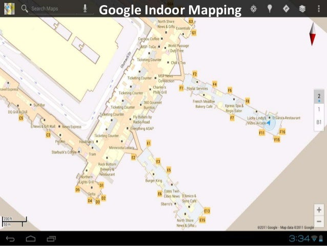 Google Indoor Mapping