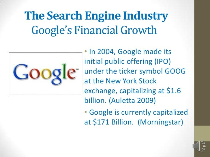 google and morningstar from their auction ipos Martha dustin boudos, chief financial officer for morningstar, the market research company based in chicago, said that morningstar decided on the auction system for its 2005 ipo in keeping with.