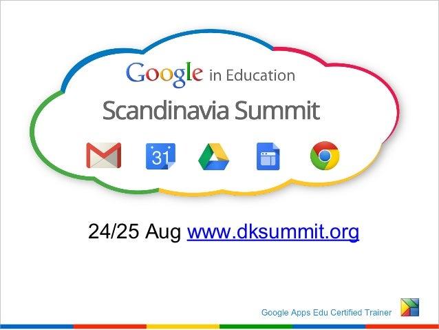 24/25 Aug www.dksummit.org