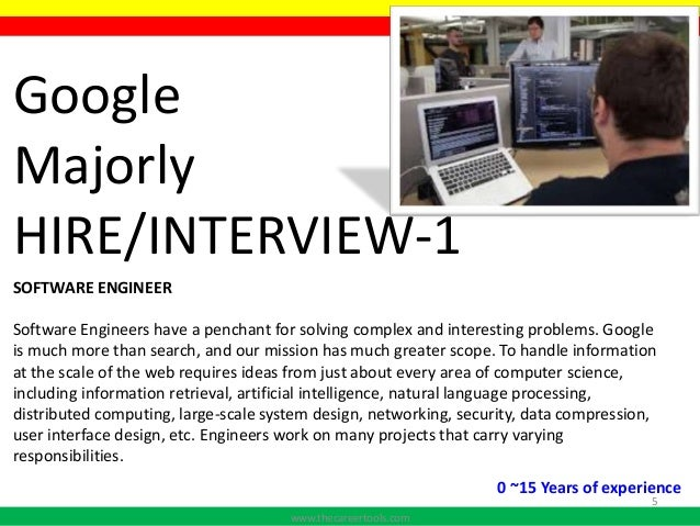 google interview I reached out to a close family friend who works at google as a software engineer he referred me into their internal database in the general category.
