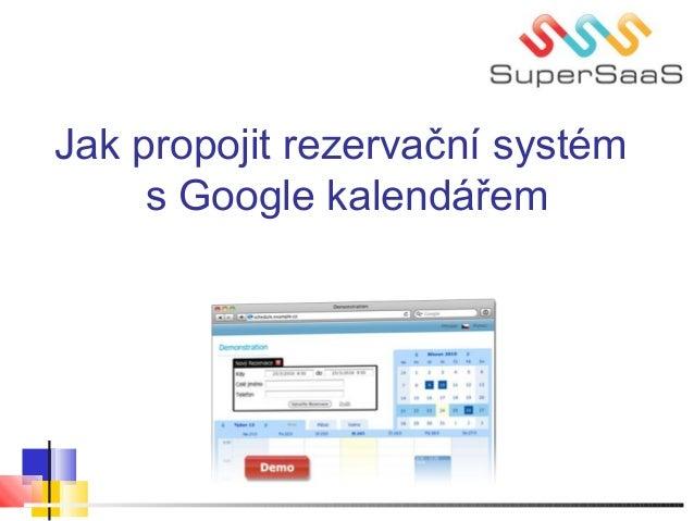 Jak propojit rezervační systém s Google kalendářem