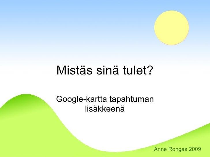 Google Kartta