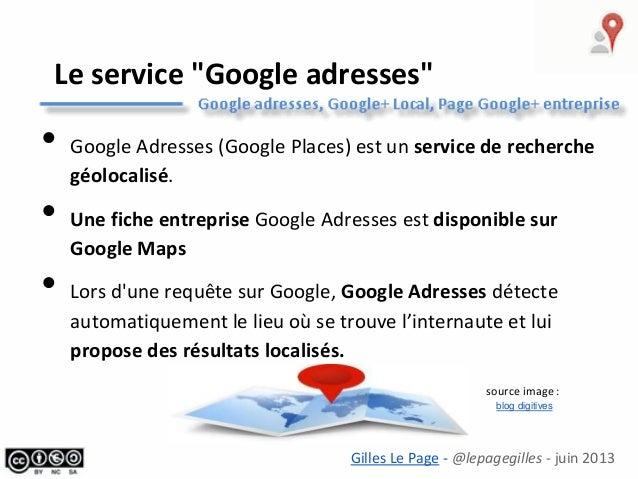 Google+Local pour mon entreprise (tourisme) Slide 2