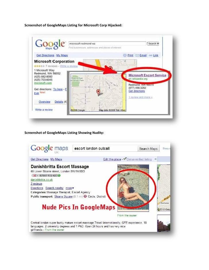 Maps sex in google N.J. strip