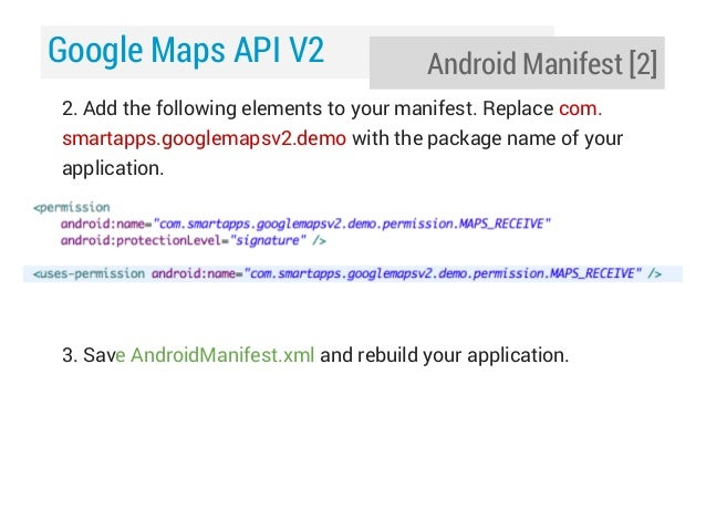 how to add map key to your android application