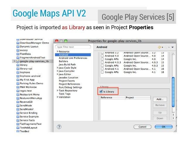 Day 13: Google Maps Android API v2: Part 1