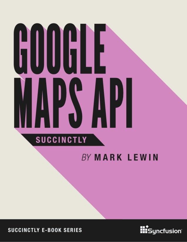 Google maps api_succinctly Slide 1