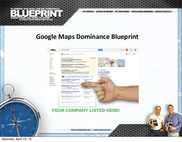 Google maps blueprint for plumbing hvac contractors google maps dominance blueprint saturday malvernweather Images