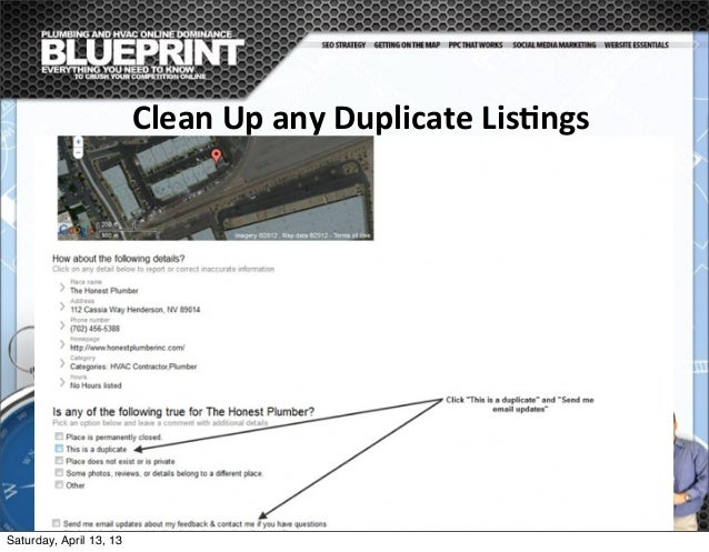 Clean  Up  any  Duplicate  Lis@ngs Once you have Optimized your listing using the best practices referenced above,...