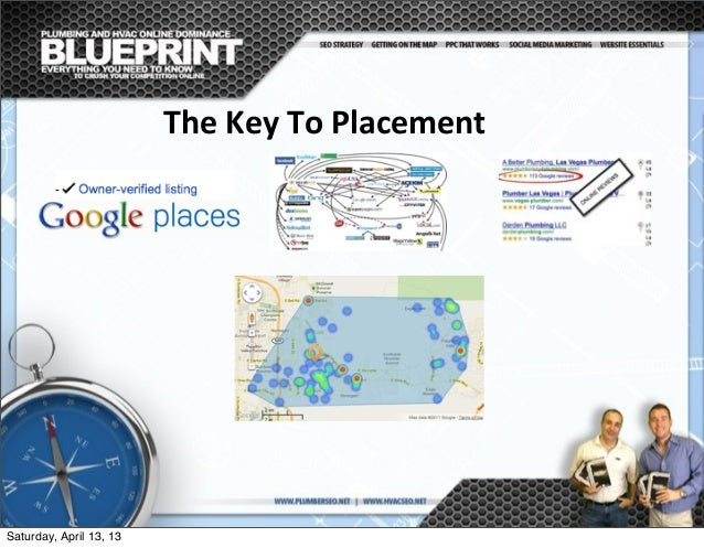 The  Key  To  Placement Saturday, April 13, 13