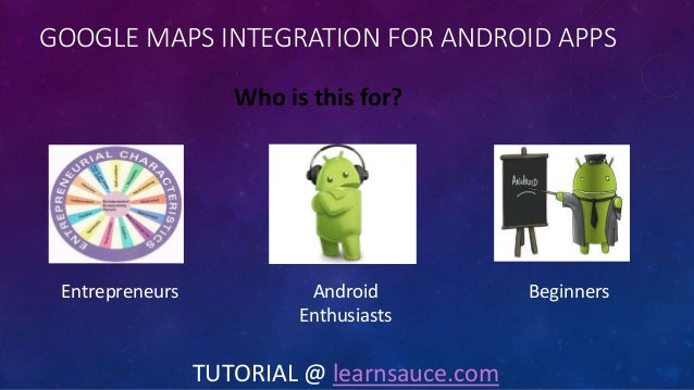 Google maps integration tutorial