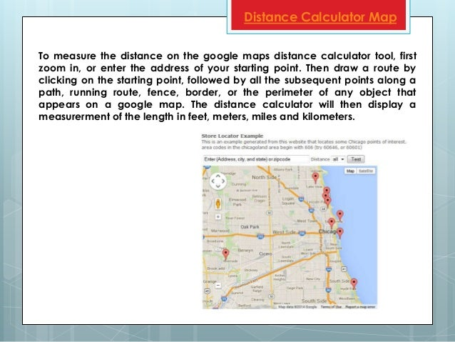 Google Maps Distance Calculator - Route map and distance calculator