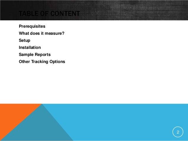 Google Mobile App Analytics Slide 2