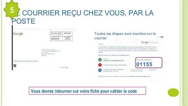 LE COURRIER REÇU CHEZ VOUS, PAR LA POSTE 5 Toutes les étapes sont inscrites sur le courrier Vous devrez retourner sur votr...