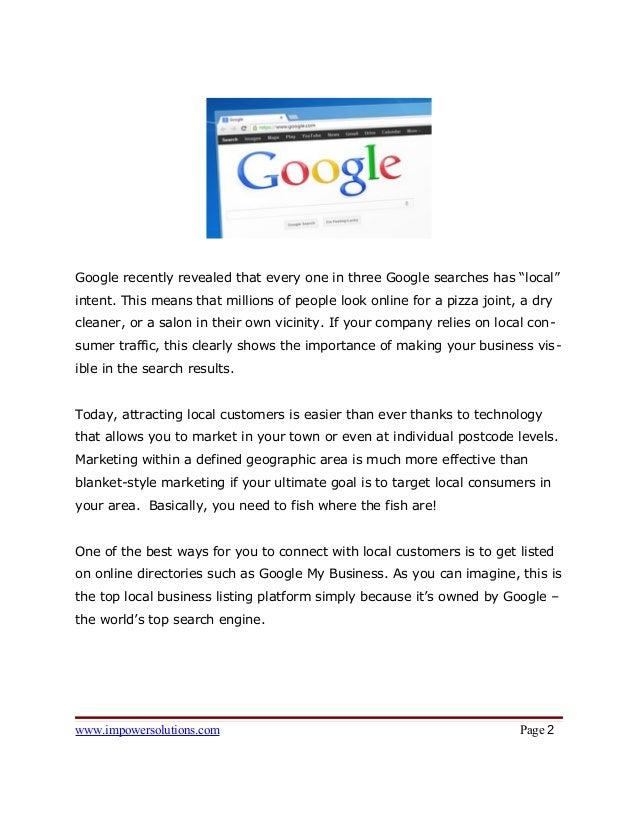 Top 10 Benefits of Google My Business