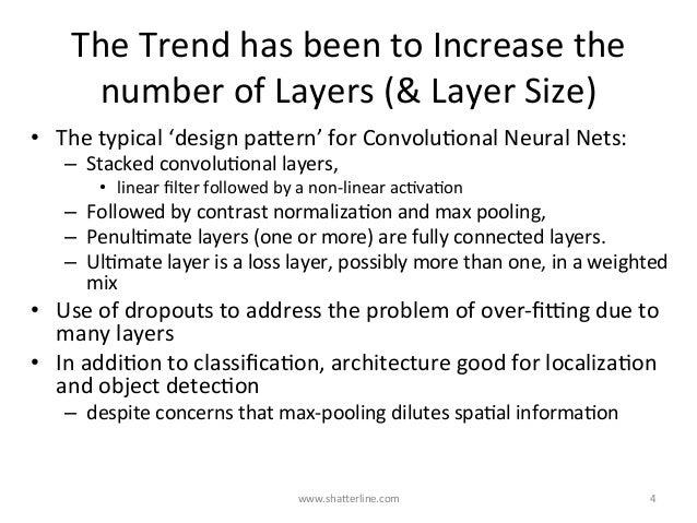 TheTrendhasbeentoIncreasethe numberofLayers(&LayerSize) • Thetypical'designpaBern'forConvoluKonalNeura...