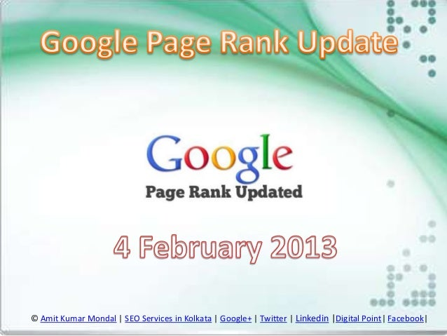 © Amit Kumar Mondal | SEO Services in Kolkata | Google+ | Twitter | Linkedin |Digital Point| Facebook|