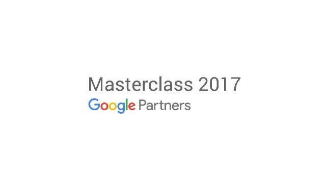 Welcome to Masterclass 2017