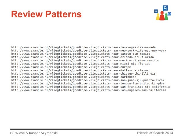 Review Patterns