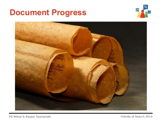 Document Progress