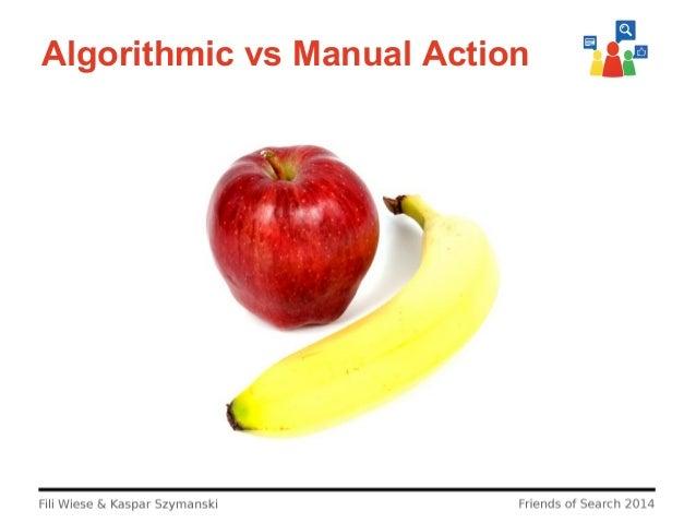 Algorithmic vs Manual Action
