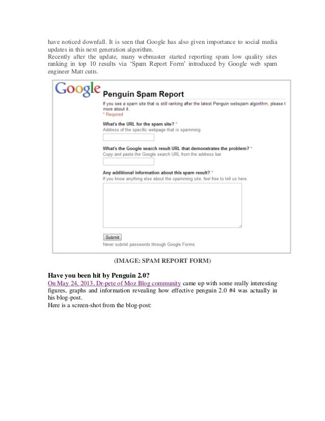 Google Penguin Update 2.0 #4 - How to Recover Your Site? slideshare - ì›¹