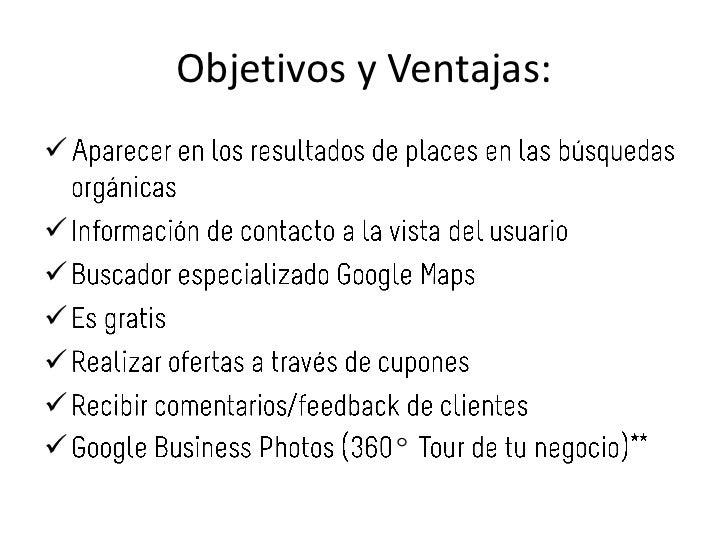 Google places Slide 2
