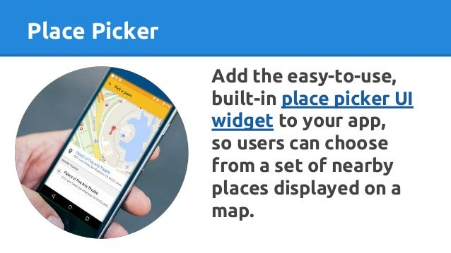 Google places API by SofDroid