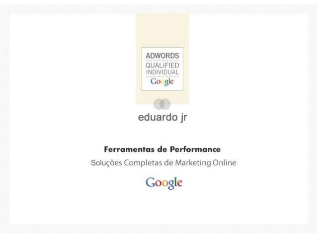 Google Ferramentas de Gerenciamento