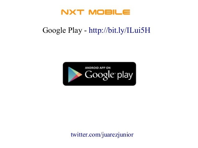 Google Play - http://bit.ly/ILui5H  twitter.com/juarezjunior